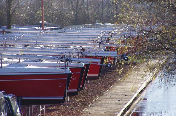 Winterberging Fox 22 - Ottenhome Heeg - Jachthaven