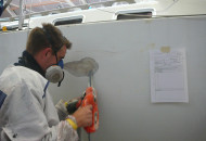 Werkplaats - Polyester reparaties - Ottenhome Heeg